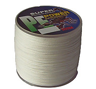 500M / 550 Yards PE Braided Line / Dyneema / Superline Fishing Line White 50LB / 45LB / 60LB 0.3;0.32;0.37 mm ForSea Fishing / Freshwater