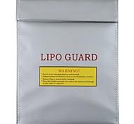 RC LiPo батареи безопасности сумка Безопасный гвардии зарядки мешок Цвет Серебристый (Большой)