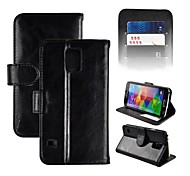 S5-Solid Angibabe Genuine Solid Leather Case for Samsung Galaxy S5/i9600