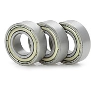 [583322]GZ3D03 Rapid Prototyping Stainless Steel Bearings for 3D Printer - Silver (3 PCS)