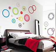 "Romance Wall Stickers Plane Wall Stickers , PVC 23.6""x 35.4"" (60cm x 90cm)"