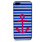 Stripes Index Pattern Hard Case for iPhone 5/5S