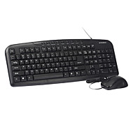 Hyundai MA61 USB Wired Ergonomics Design Optical Mouse Keyboard