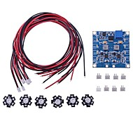 RC LED Flashing Light/Night Light w/LED Board and LED Extension Wire for Hexacopter (6 pcs)