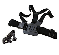 3-way Adjustment Base Chest Body Strap For Gopro Hero 3+/3/2/1
