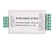 3 Channel Mini RGB LED Amplifier Controller for RGB LED Strip Light (DC12V 12A 144W)