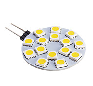 G4 7 W 15 SMD 5050 480 LM Warm White Spot Lights DC 12 V