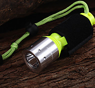 KL071 1-Mode 1xCree XM-L T6 Waterproof Diving Flashlights(1x18650,800LM)