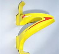 NT-BC1009 amarelo e rosa Ciclismo 3K Weave da fibra do carbono Bottle Cage