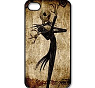 Nightmare Before Christmas Jack Skellington Muster Kunststoff Hard Case für iPhone 4/4S
