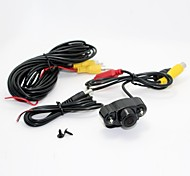 Mini Universal Car 2 LED di visione notturna impermeabile Auto Back Up Rear View Camera