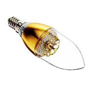 E14 3 W 30 SMD 3014 60-200 LM Warm White Dimmable Candle Bulbs AC 220-240 V