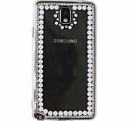 Hecho a mano puro DIY Protección Shell para Samsung Galaxy Nota 3