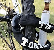 Bicycle Bike Motorcycle 5 Digit Combination Lock Durable Chain