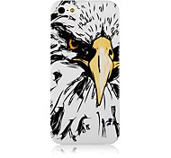 Eagle Pattern Silicone Soft Case for iPhone4/4S