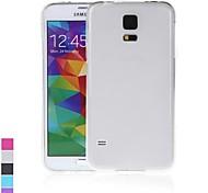 TPU di protezione posteriore Case Cover Shell per Samsung Galaxy i9600 S5