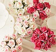 "7""H Lightish Rose Arrangement (Color Sent Randomly)"