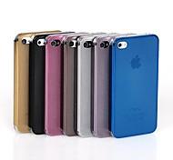 Brushed Metal Case Gridding para el iPhone 5/5S (colores surtidos)