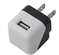 Compact Mini 5V 1000mA USB US Plug  Power Adapter