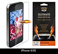 Shock-4 2Pcs/lots Buff Shock Ultimate Shock Absorption Screen Protector for iPhone5 front