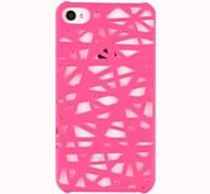 Vogelnest Lou Leere Design Kunststoff Hard Case für iPhone 4/4S (verschiedene Farben)