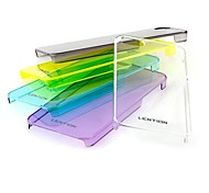 Hard Case Lention Solid Color PC pour iPhone5/5S (couleurs assorties)