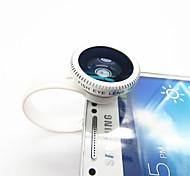 Clip-On universal de 180 grados de la lente de Fisheye para iPad / iPhone