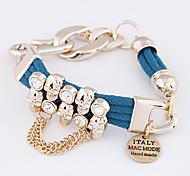 -Troddel-Chain & Link-Armbänder