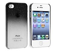 Elonbo J8X watergradiënt Ontwerp Hard Case Cover voor iPhone 4/4S (verschillende kleuren)
