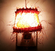 10W Yellow Flower Tassels Cloth LED Night Light(AC110-240V)