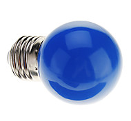 0.5W E26/E27 LED Globe Bulbs G45 7 Dip LED 50 lm Blue Decorative AC 220-240 V