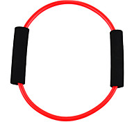 Word O Style Latex Fitness Exercise Stretch Pull Rope - Red