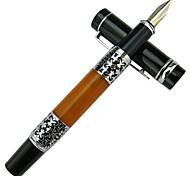 Business Black Metal Patterned Pens(1 Pen)