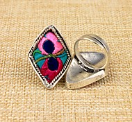 The Miao Nationality Fabric Women's Ring(1 Pc)