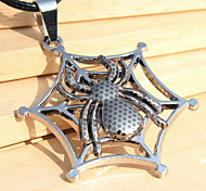Z&X®  Ethnic (Hollow Spider Pendant) Silver Alloy Pendant Necklace (1 Pc)