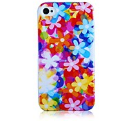 Padrão Wild Flower Soft Case de silicone para iPhone5/5S