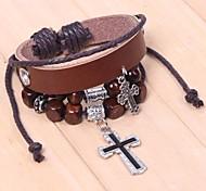 The 2015 Vintage Fashion Jewelry Cross Beaded Bracelet