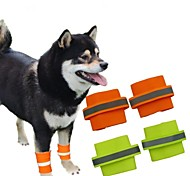 Fluorescent Safety Dog Wristband for Pets Dogs 2-Piece