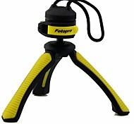 "Fotopro SY310 Mini Table Tripod for Digital Camera with 1/4"" Universal Screw Interface - Yellow"