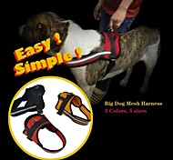 Mesh Padded Working-Dog Style Harnesses for Pets Dogs