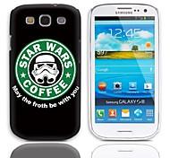 Forth Estar com Você projeta Caso duro com protetores de tela de 3-Pack para Samsung Galaxy S3 I9300