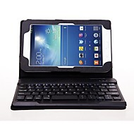Detachable Bluetooth Keyboard Flip Stand Leather Case for Samsung Galaxy Tab 3 Lite T110/T111