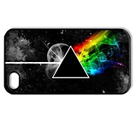 Pink Floyd - The Dark Side of the Moon Pattern Plastic Hard Case for iPhone 4/4S