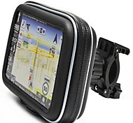 "Waterproof bike/bicycle/motorcycle Case & Mount Handlebar for 5"" Garmin Nuvi GPS"