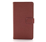 Lichee Pattern Luxury Pattern Wallet Leather Case for Nokia N929(Assorted Colors)