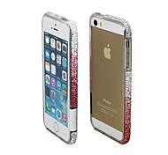 Rhinestone changement progressif de butoir pour l'iPhone 5/5S