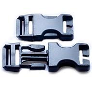Reparação da correia de bagagem Side Lançamento Buckles Substituição 25 milímetros-Black (2-Pieces Pacote)