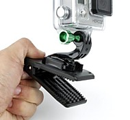 Quick Attach Clip w/ J Buckle for GoPro HD Hero Cam (BK)