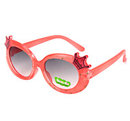 100% UV gafas de sol de color moda gradiente ronda 400 niños (color al azar)