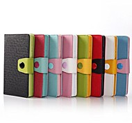PU-Ledertasche mit Ständer und Karten-Slot für Nokia XL
